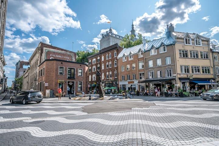 Old Québec 2 BDRs - 6 people - Parking