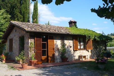 Panoramica casa vacanza Toscana - Chiusi
