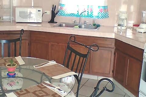 Departamento amueblado 1 recámara,WiFi,Cocina,Baño