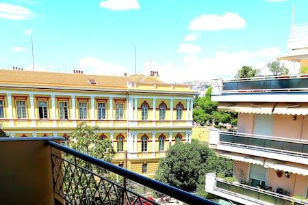 Smurfs' house center Thessaloniki