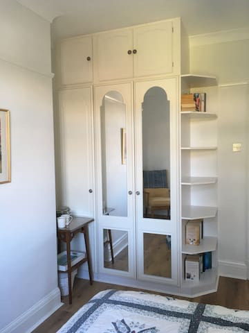 Wardrobes and tea/coffee making station