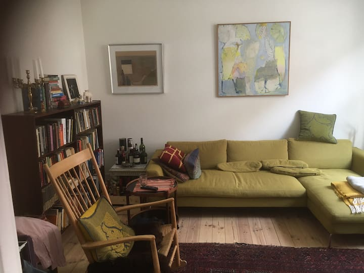 Central appartment in fashionable Vesterbro.