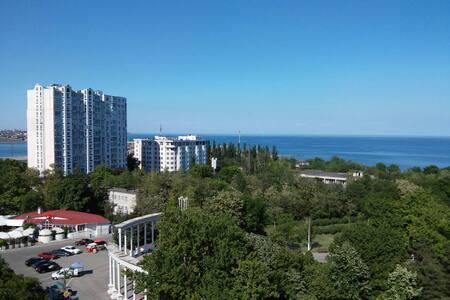 Квартира с прекрасным видом моря в г. Черноморск