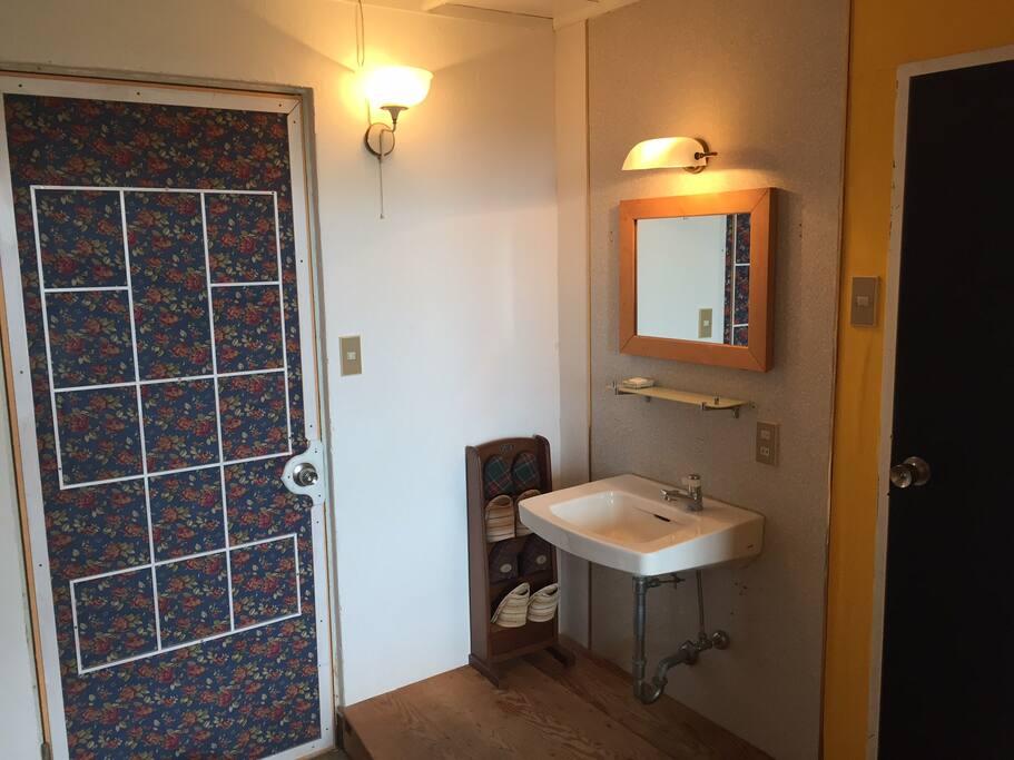 405 washroom & toilet