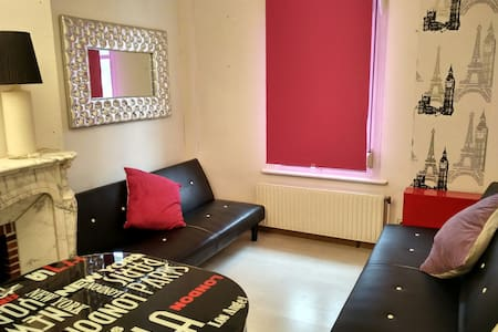 Rooms for 4 persons near the beach! - Dunkerque - Appartement
