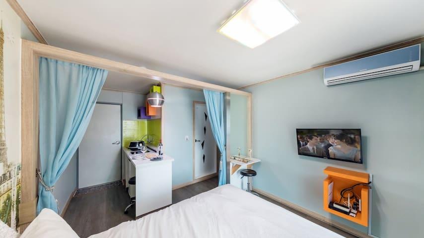 춘천강촌 자연속 커플룸 (CC3)