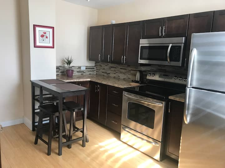 1-room Suite next to Pan Am Clinic/Grant Park