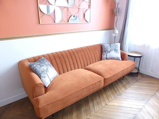 ☀️Magnifique appartement rénové en bail mobilité