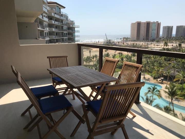 Acapulco en la Isla Residences bonito departamento