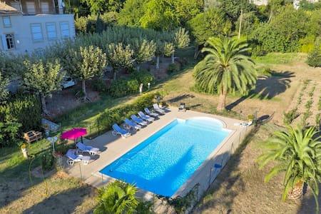 Belle Maison au coeur des Vignes avec Piscine !! - Marseillette - Hus