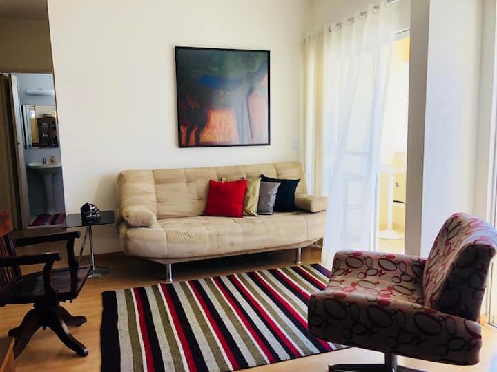 Apartamento equipado no melhor bairro de Campinas