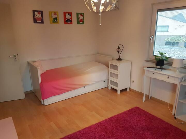 Privé kamer met eigen privé badkamer