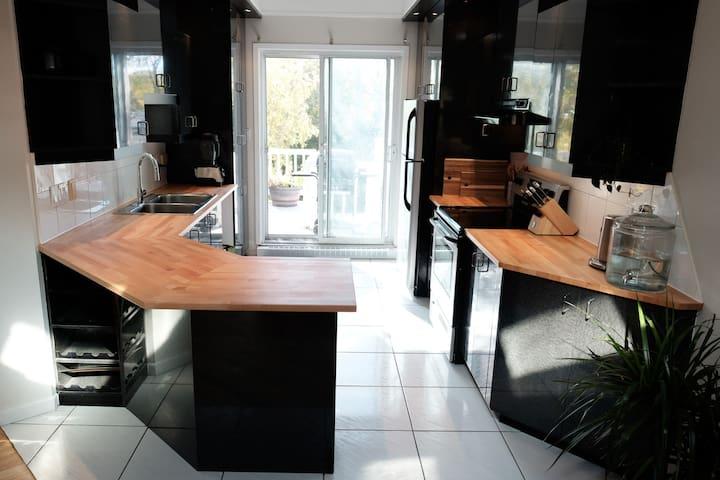 Kitchen: fully equiped