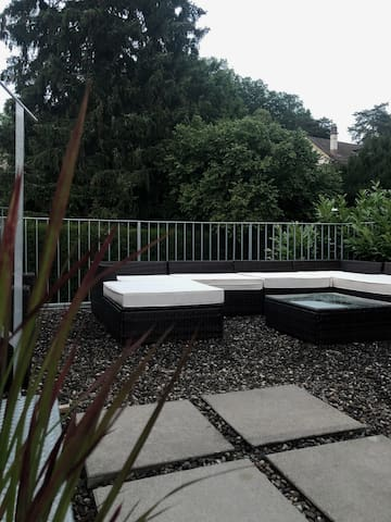 Ruhiges Appartement Nähe von Basel und Goetheanum