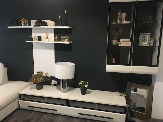 True modern apartament-home away from home