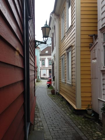 Charming old house- ideal for families. - Bergen - House