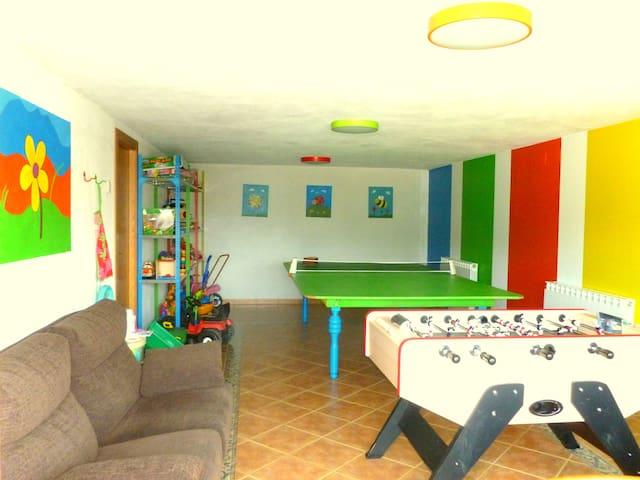 Casa rural en Navarra para familias con niños - Eulz