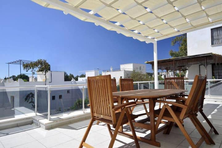 2 BR Central House in Gumbet/Bodrum