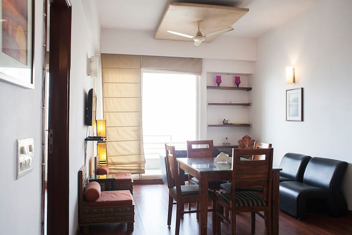 Serviced 2BHK Suite - Gurgaon - Leilighet