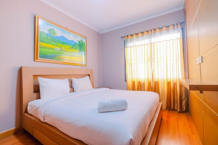 Comfy 2BR at Mediterania Marina Ancol Apartment
