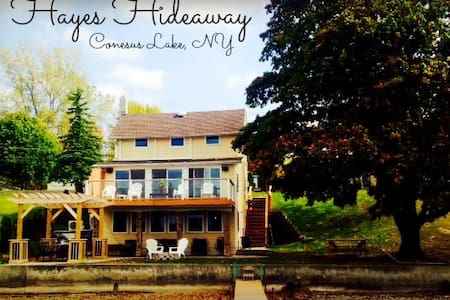 Hayes Hideaway on Conesus Lake NY - Hus