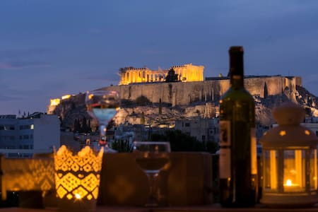 Superb Acropolis view from a brand new apartment! - Athina