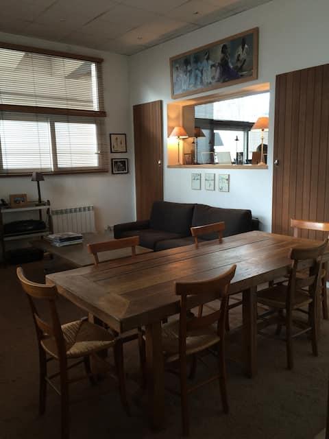 Appartement  2 pièces situé au RDC