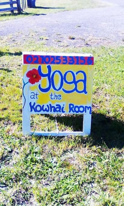 We have yoga!