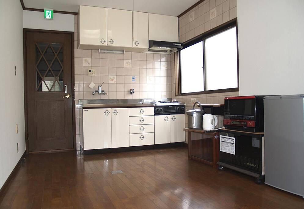 Kitchen room 3.4 x 2.7 m