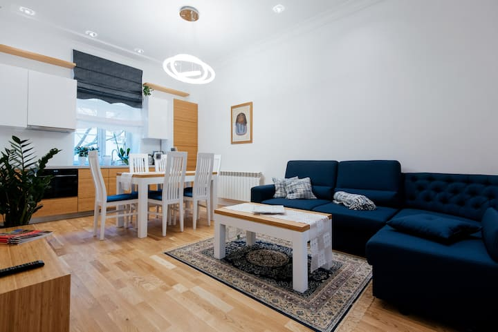 Central Apartment, 3rooms, max 6 ppl