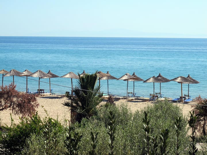 Ideal holidays in front of the sea