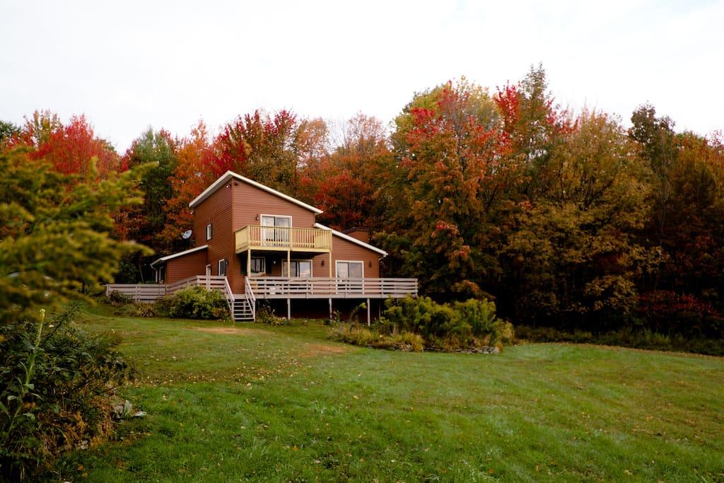 Black Bear Ridge in the fall