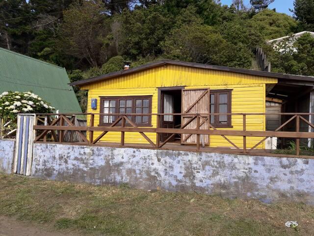 Casa de playa cómoda cerca del mar