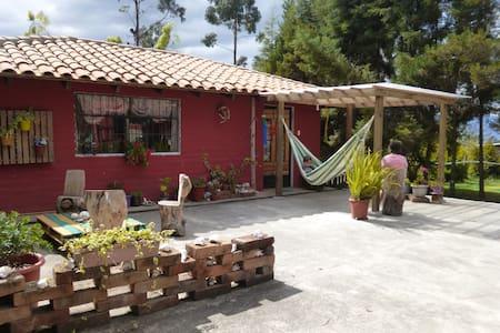 """""""Petirrojo Haus"""" un encanto en los Andes"""