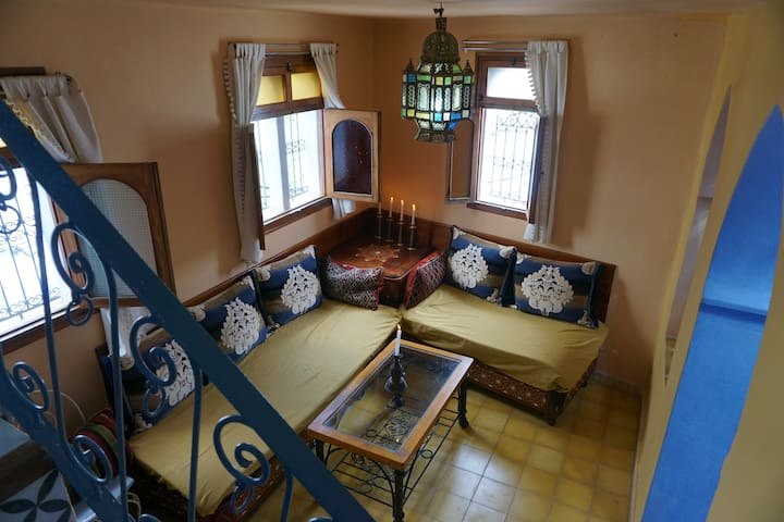 Local moroccan experience in heart of Chaoen 1bdrm - Chefchaouen - Dom