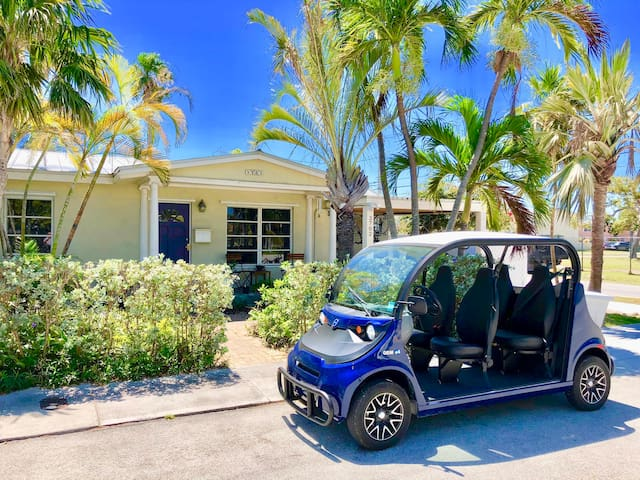 Key West, Home, Pool and Electric Car!