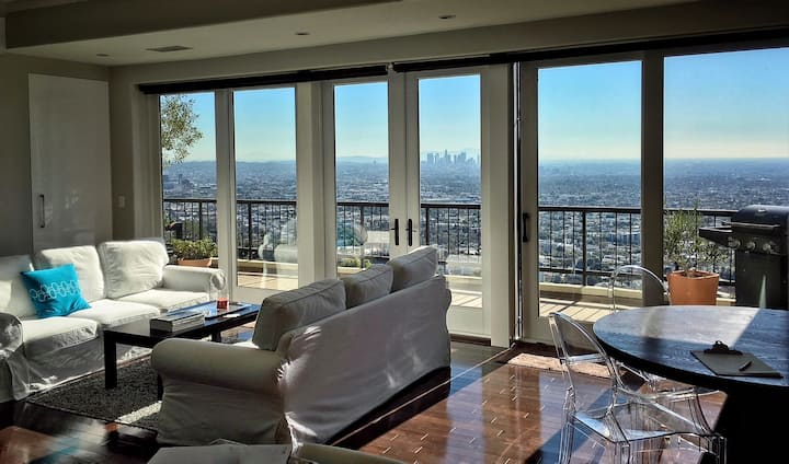 EPIC VIEWS above Sunset Strip/Hollywood Hills/WeHo
