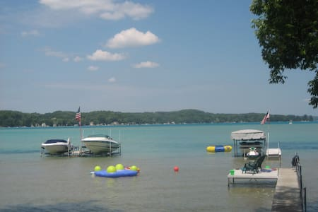 Family Friendly Summer Home on Torch Lake - Rapid City