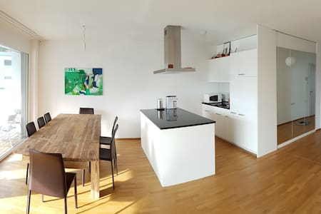 Moderne, zentrale, sonnige 3.5 Zi Whg: bis 6 Pers - Davos - Apartment
