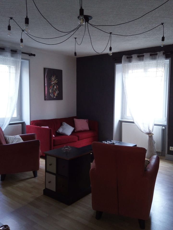Appartement vintage A l ancienne Forge