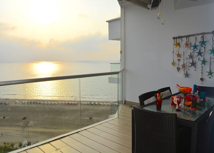 Our Piece Of Heaven With Ocean View ♥️ CARTAGENA