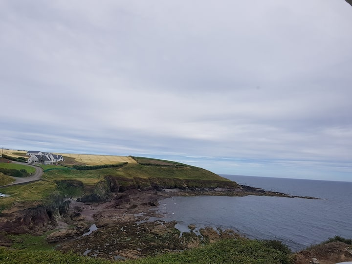 Cliff top location with the best sea views