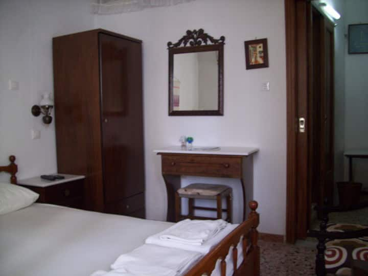 Traditional room in Chora village