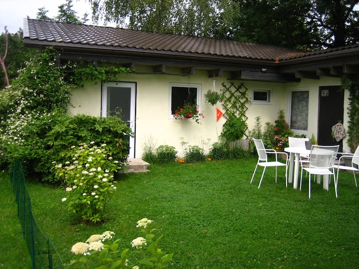 Secret garden house in the center of Sigulda