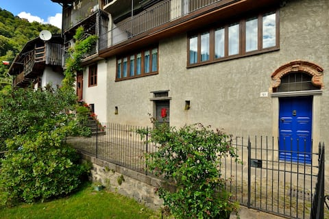 Quiet mountain house in Valle Cervo, Biella