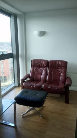 Leeds City Centre, apartment in Landmark building