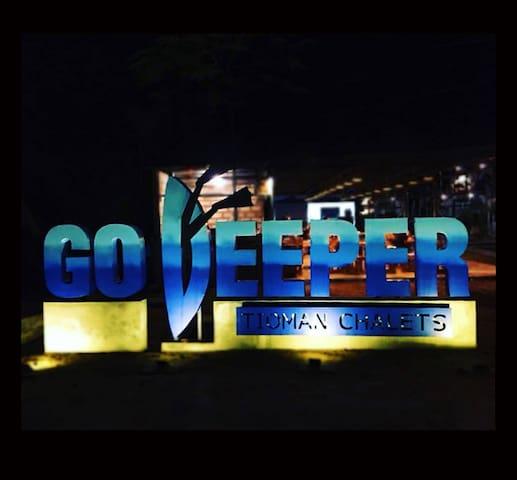Go Deeper Signage