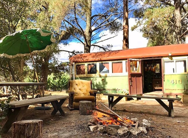Tram and vintage caravan 5 minutes from Kyneton - Lauriston - Overig