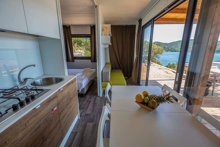 Luxury couple camping villa with kitchenette