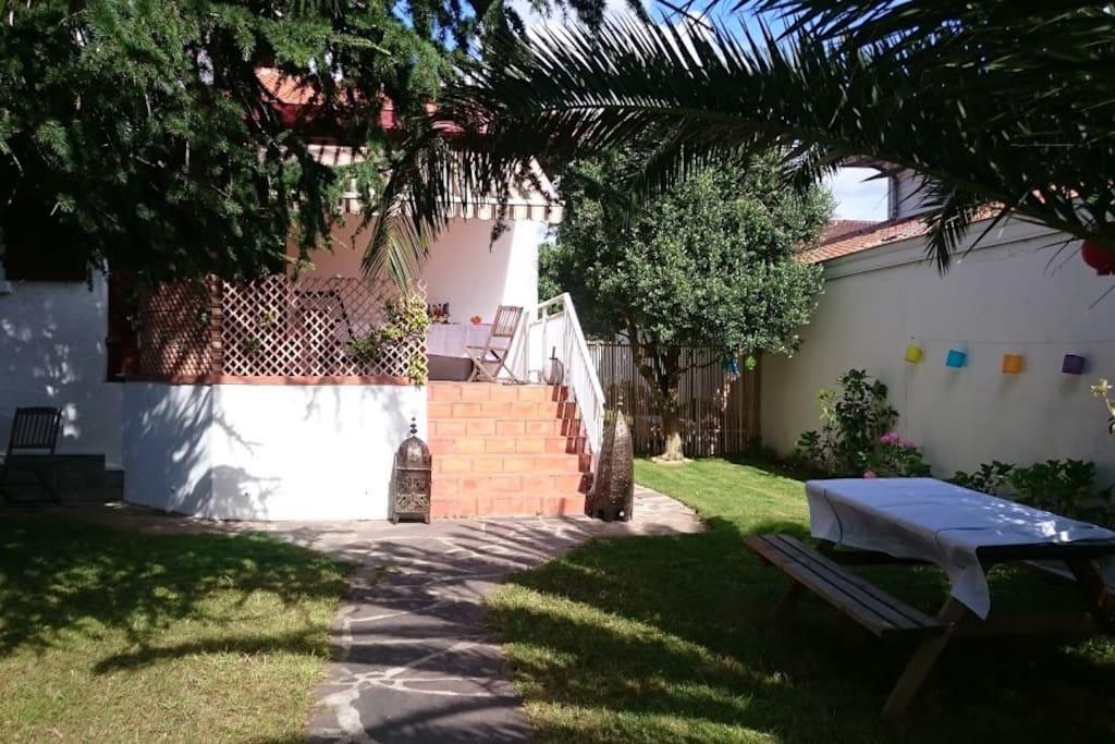 Grande maison familiale avec piscine houses for rent in for Piscine biarritz